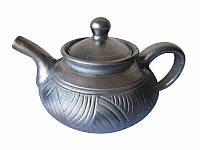 Чайник Глянец Гаварецкая  керамика (Гаварецкая глиняная посуда)