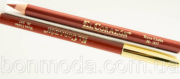 Карандаш для губ EL Corazon № 207 Terra Cotta