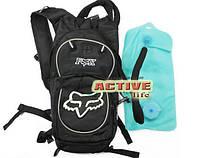 Рюкзак FOX - з питною системою 2 л - в комплекті +сітка під шлем 10L (black)