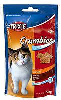 4262 Trixie Crumbies подушечки для выведения шерсти, 50 гр