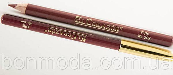 Карандаш деревянный EL Corazon № 208 Olly