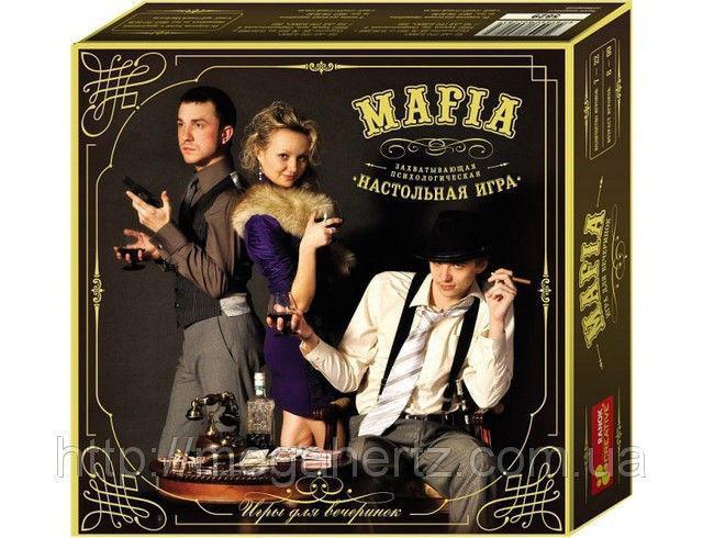 Мафія карткова гра персонажі