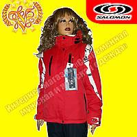 Женская горнолыжная куртка «Salomon» 715-2 L  (48)