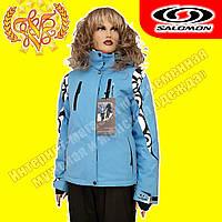 Женская спортивная горнолыжная куртка «Salomon» 715-3