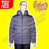 Спортивные мужские пуховики Tiger Force 393 Grey 3-4