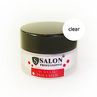 Акриловая пудра Salon Professional Standart Clear прозрачная 20 гр