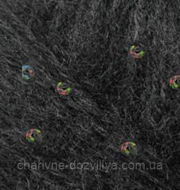 Пряжа для ручного вязания (мохеровая с пайетками) Angora Gold Pullu Alize/Ангора Голд Пуллу Ализе