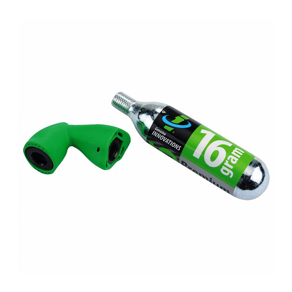 Балон CO2 (16гр) + клапан, Genuine Innovation