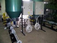Пресс для производства топливных брикетов из отходов древесины, помета и соломы