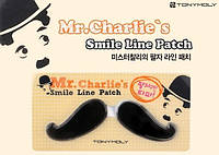 Гидрогелевые патчи для носогубной зоны от морщин Tony Moly Mr. Charlie's Smile Line Patch