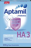 Aptamil Folgenahrung HA 3 ab dem 10. Monat - Гипоаллергенная молочная смесь для детей с 10 месяца,  550 г
