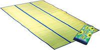 """Пляжный коврик """"Соломка на фольге"""" 150 см*180 см"""