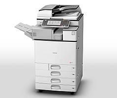 Полноцветный МФУ Ricoh MP C2503SP для офиса. Формат а3 принтер/сканер/копир. Удобная и понятная smart-панель у