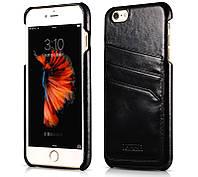 Чехол для iPhone 6/6s - Icarer Baroque Vintage Back Cover Series, черный