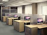 Офисные мобильные перегородки, как средство экономии пространства и времени.