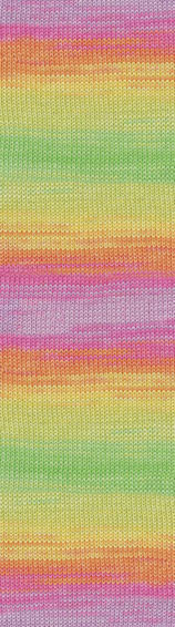 Пряжа для ручного и машинного вязания (летняя фантазийная) Miss Batik Alize/Мисс Батик Ализе