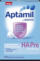 Aptamil Hypoallergene Anfangsnahrung Pre - Гипоаллергенная смесь для недоношенных младенцев с рождения, 550 г