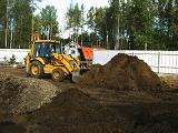 Планирование грунта, нивелирование (по факту)