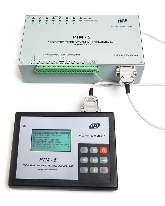 Система управління ТВО бетону РТМ-5