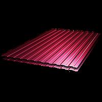 Профнастил ПС8 (RAL3005) толщина 0,4