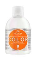 Kallos Color шампунь с льняным маслом и уф-фильтром, 1л
