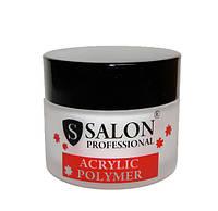 Акриловая пудра Salon Professional Standart White белая 50 гр