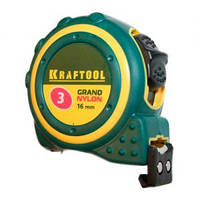 Рулетка с магнитом, нейлоновым покрытием   3 м х 19 мм KRAFTOOL EXPERT 3412-03-19_z01 Киев.