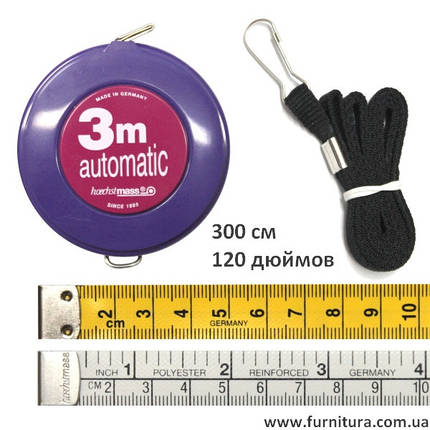 Сантиметр Hobby 3м., рулетка, фото 2