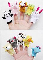 Пальчиковый театр куклы Животные 5 шт