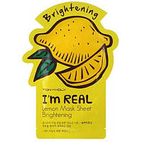 Тканевая маска с экстрактом лимона TONY MOLY I'm Real Lemon Mask Sheet