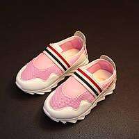 Детские летние кроссовки 3 полоски