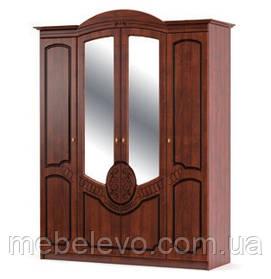 Шкаф Барокко 4Д 2250х1790х600мм    Мебель-Сервис
