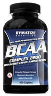 BCAA Complex 2200 Dymatize Nutrition, 400 таблеток (срок до 07.2018)