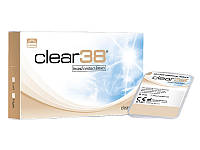 Контактные линзы Clear 38  6-шт  1шт-140гр