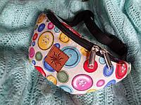 Цветная сумка с пуговками