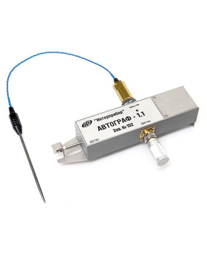 Автономний реєстратор процесів сушіння цегли АВТОГРАФ-1.1