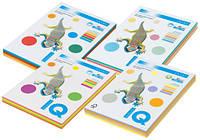 Бумага А4 250 листов 80 г/м2, 5х50 листов. IQ (пастель)