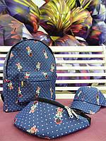 Джинсовая сумочка с Минни, фото 1