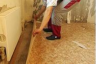 Демонтаж ковролина, линолеума