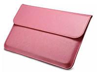 "Кожаный чехол-папка для MacBook Air 13"" - Icarer Genuine Leather Series, розовый"