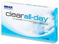 Контактные линзы Clear all day  6-шт 1шт-117гр