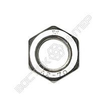 Гайка нержавеющая М10 DIN 934 | Размеры, вес, фото 2