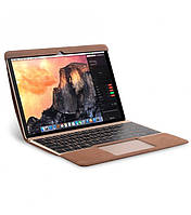 "Кожаный чехол для MacBook Air 11.6"" - Melkco Easy-Fit Premium Leather Cover, коричневый"