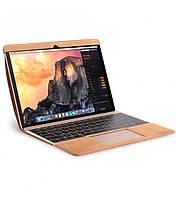 "Кожаный чехол для MacBook Air 11.6"" - Melkco Easy-Fit Premium Leather Cover, светло-коричневый"
