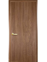Дверь сакура золотая ольха с гравировкой