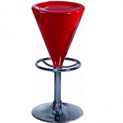 Стул барный Коно красный (СДМ мебель-ТМ), фото 2
