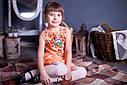 Платье детское без рукавов,вышивка Петриківський розпис 2