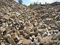 Камень бутовый (фракция 0-300 )  от 10 тонн