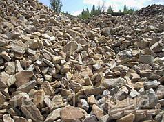 Камень бутовый, фракция 0-300 от 25 тонн