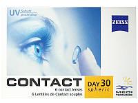 Контактные линзы Zeiss CD 30 Mediterranee  6-шт   1шт-135гр